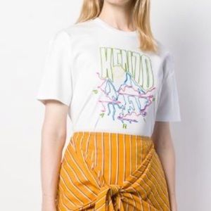 Kenzo Mountain Embroidered T shirt size XS